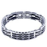 Bracelets - men's bracelet mens men's stainless steel bracelets cuff bangle bracelets Image.