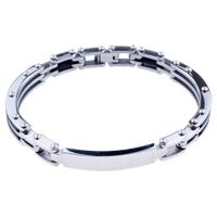 Bracelets - men's bracelet chic men's stainless steel bracelets cuff bangle bracelets Image.