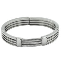 Bracelets - men's bracelet cuff mens men's stainless steel bracelets cuff bangle bracelets Image.