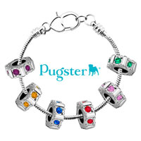 Charms Beads - spacer swarovski elements crystal six colors beads charms bracelets fit all brands Image.