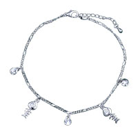 Bracelets - dangle fish crystal bracelet spring Image.