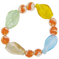 Bracelets - citrus murano glass beads charms bracelets fit all brands Image.