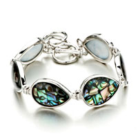 New Year Deals - color mosaic pattern drop shell bracelets Image.