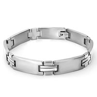 Bracelets - men's stainless steel bracelets cuff bangle bracelets simple men's starer brqacelet bracelet Image.