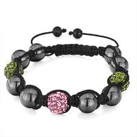 Bracelets - shamballa bracelet alternate double heidan wrist Image.