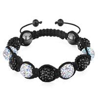 Bracelets - shamballa bracelet alternate crystal aurore boreale disco ball Image.