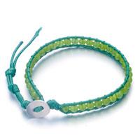 Bracelets - decorative purple ribbon string bracelets Image.