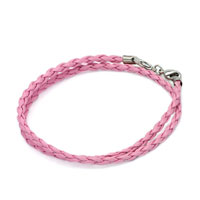 Charms Beads - snake charms snake chains snake bracelets rose pink leather bracelet Image.