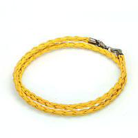 Charms Beads - snake charms snake chains snake bracelets yellow leather bracelet Image.