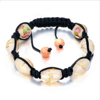 New Year Deals - shamballa bracelet silk pattern beads adjustable lace Image.