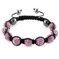 KSEB SHEB Items - shambhala bracelets alexandrite amethyst crystal stone balls adjustable lace bracelet Image.