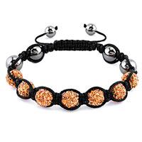 KSEB SHEB Items - shamballa bracelet lemon yellow crystal stone balls beaded inspired adjustable bracelets Image.