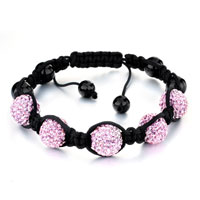 Gifts Center - shambhala bracelet pink disco ball rhinestone Image.