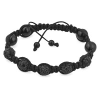 Bracelets - shambhala bracelet fahter's day gifts black disco ball rhinestone Image.
