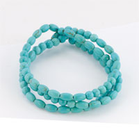 New Year Deals - fashion bling jewelry set stackable turquoise beads bracelet Image.