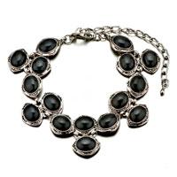 New Year Deals - black oval stone bracelets Image.