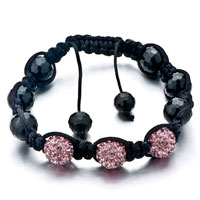 New Year Deals - shamballa bracelet unisex crystal disco ball friendship Image.