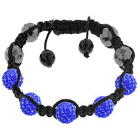 New Year Deals - shamballa bracelet unisex hip hop crystal disco Image.