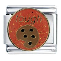 Italian Charms - tough cookie food italian charm bracelet Image.