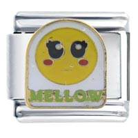 Italian Charms - mellow face autumn fashion jewelry italian charm Image.