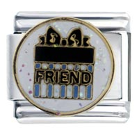 Italian Charms - gift friend wedding italian charms Image.