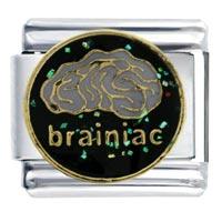 Italian Charms - brainiac italian charms Image.