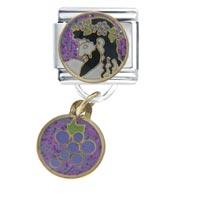 Italian Charms - dionysus travel &  flags italian charm bracelet dangle italian charm Image.
