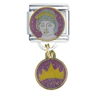 Italian Charms - hera travel &  flags italian charm bracelet dangle italian charm Image.