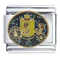 Italian Charms - royal carriage italian charms Image.