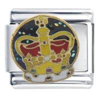 Italian Charms - crown gift italian charm Image.