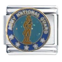 Italian Charms - army national guard italian charms Image.