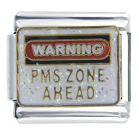 Italian Charms - warning pms italian charms Image.