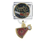 Italian Charms - party bith date italian charms dangle italian charm Image.
