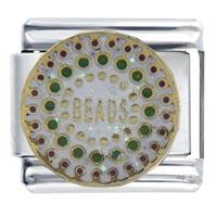 Italian Charms - mardi gras beads italian charms Image.