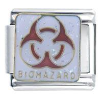 Italian Charms - biohazard logo italian charms Image.
