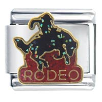 Italian Charms - golden rodeo italian charms Image.
