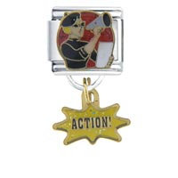 Italian Charms - action italian charms dangle italian charm Image.