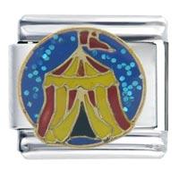 Italian Charms - carnival circus tent autumn fashion jewelry italian charm Image.