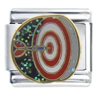 Italian Charms - darts sports italian charm bracelet Image.