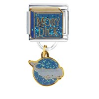 Italian Charms - moby dick birthstones jewelry italian charm dangle italian charm Image.