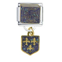 Italian Charms - musketeers italian charms dangle italian charm Image.