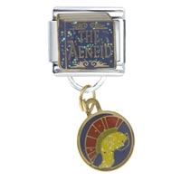 Italian Charms - aeneid italian charms dangle italian charm Image.