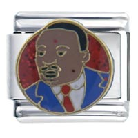 Italian Charms - dr martin luther king jr italian charms Image.