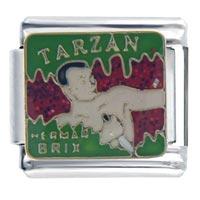 Italian Charms - tarzan italian charms Image.