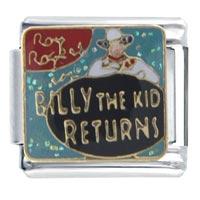 Italian Charms - billy kid returns italian charms Image.