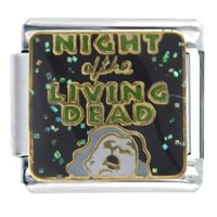 Italian Charms - night living dead italian charms Image.