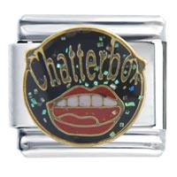 Italian Charms - chatter box italian charms Image.