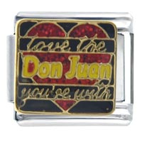 Italian Charms - love don juan you' re italian charms Image.