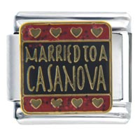Italian Charms - married to casanova italian charms Image.