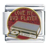 Italian Charms - love dvd player italian charms Image.